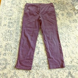 Blue and pink work pants